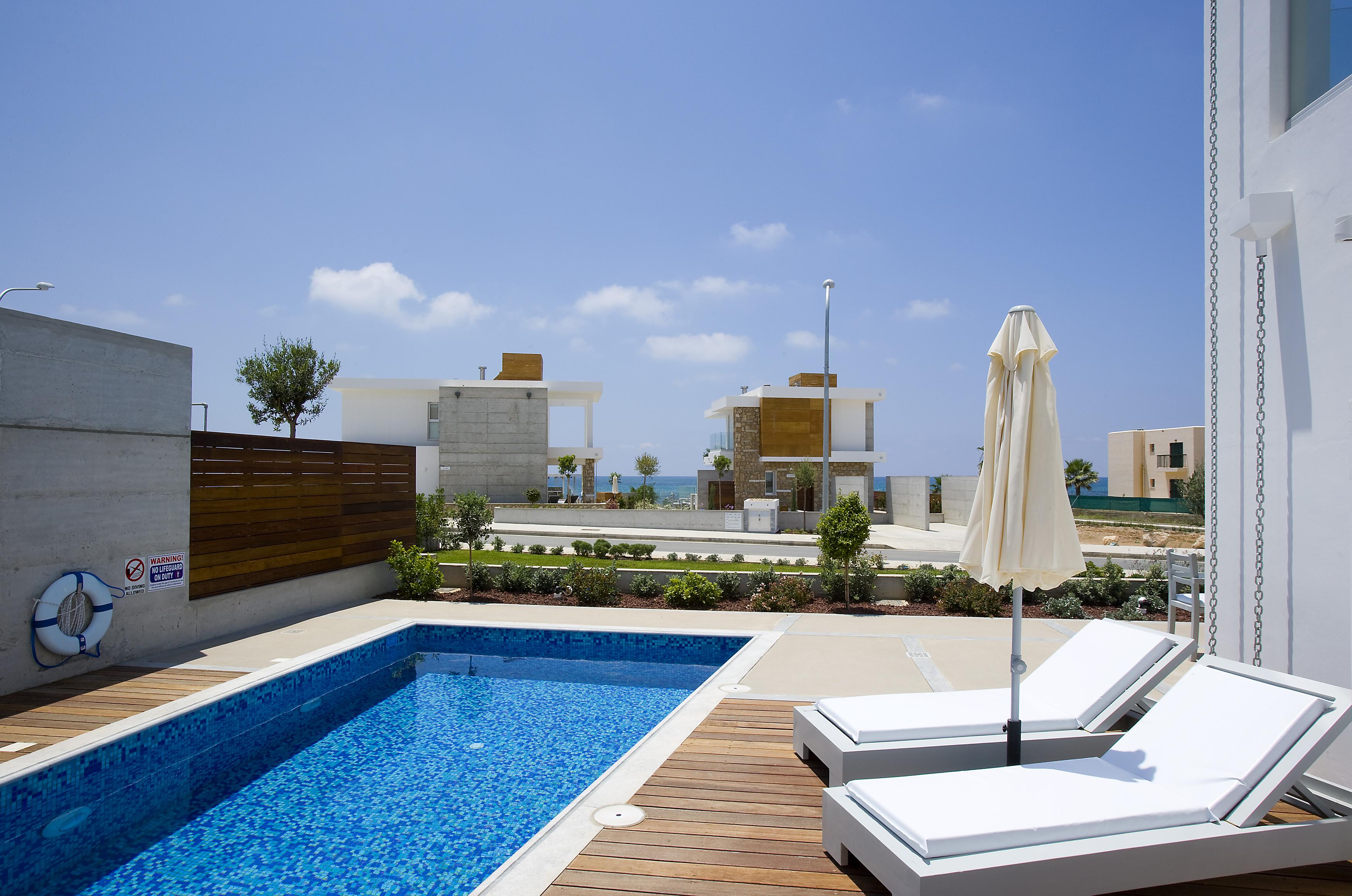 Azure beach villa in paphos Cyprus