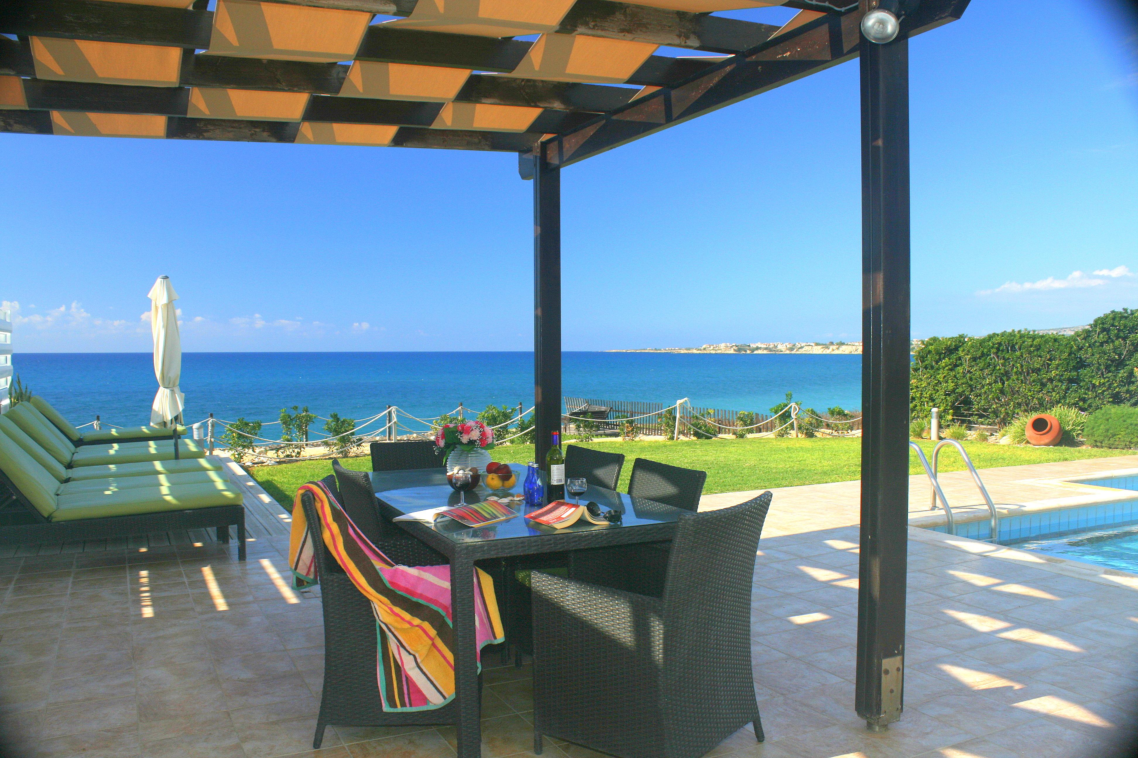 Poseidon beach villa Paphos Cyprus