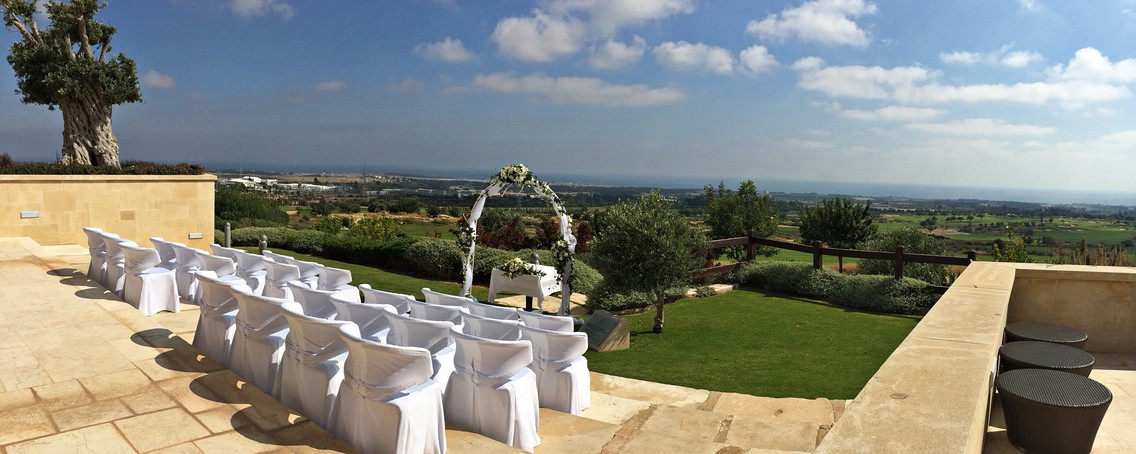The Elea Club Wedding Venue by Cyprus Dream Weddings