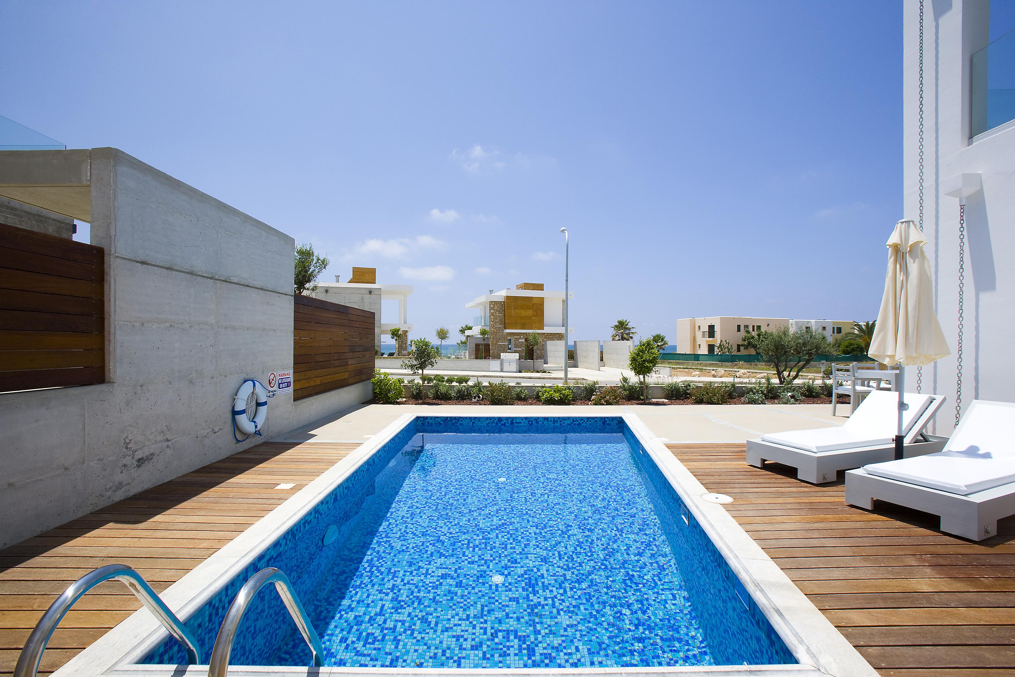 Azure beach Villa Pafos Cyprus