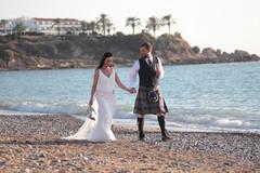 Beach villa wedding packages Paphos Cyprus