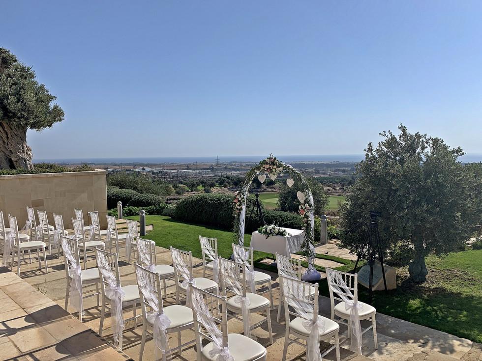 Elea Estates Wedding Venue Club Paphos Cyprus