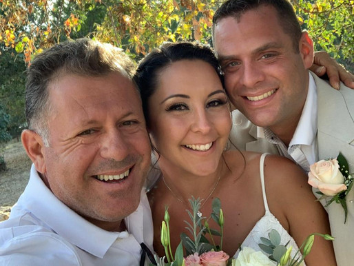 Louise & Michael, Ayia Kyriaki & Green Olive, 7th October 2019