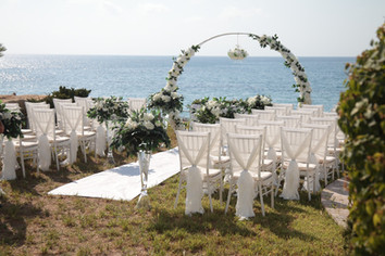 Beach villa wedding packages Paphos Cyprus