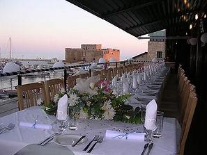 Paphos Harbour Taverna Wedding Reception