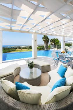 Monte Mare Villa Paphos Cyprus hire