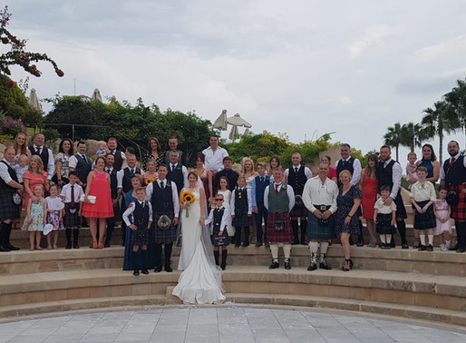 Kerry & Craig, 23rd October 2019 at Coral Beach Hotel