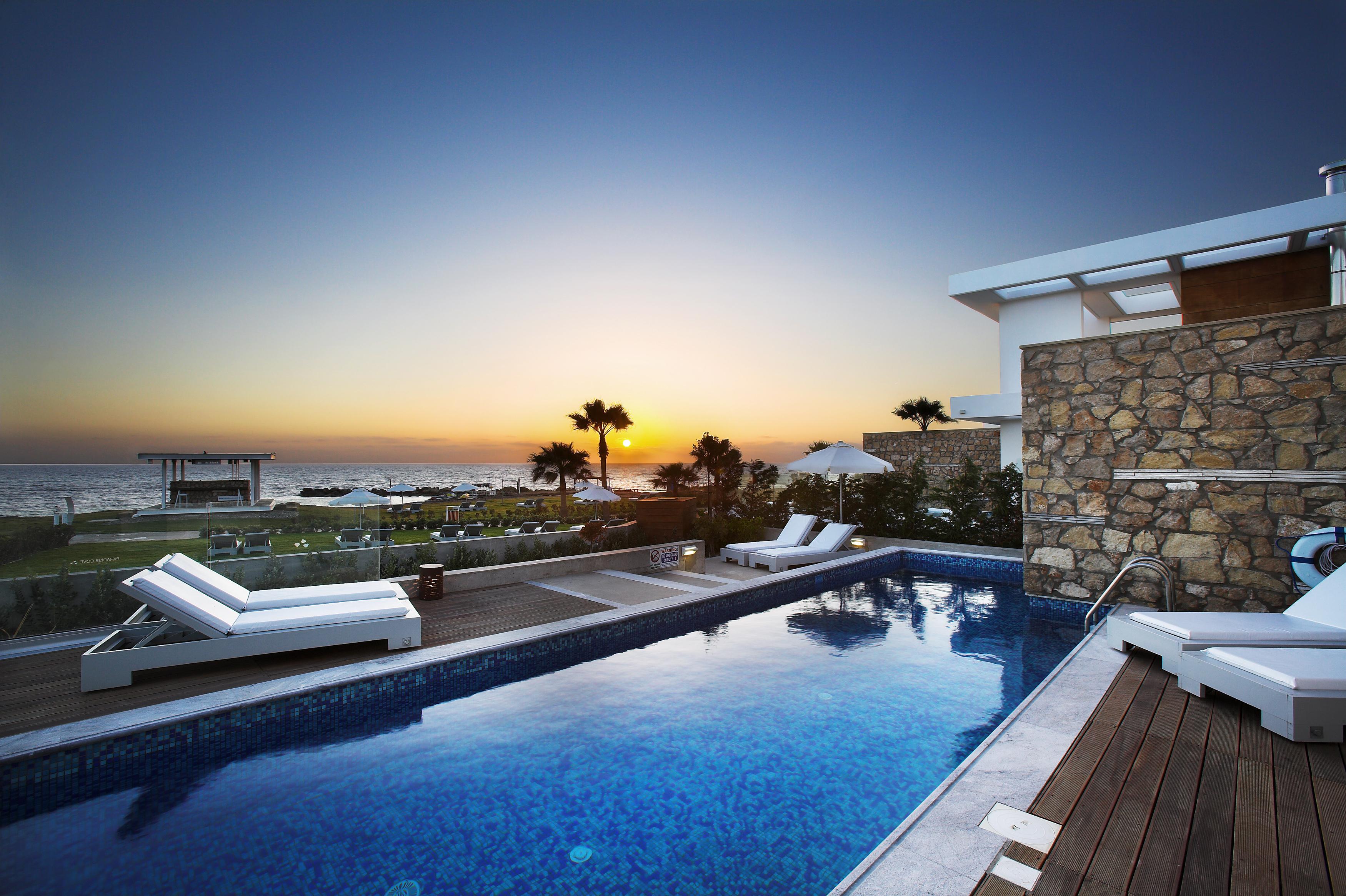 Cyan holiday villa Pafos Cyprus