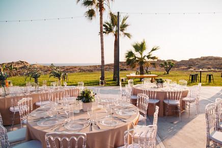 Alassos wedding venue by the beach Paphos Cyprus