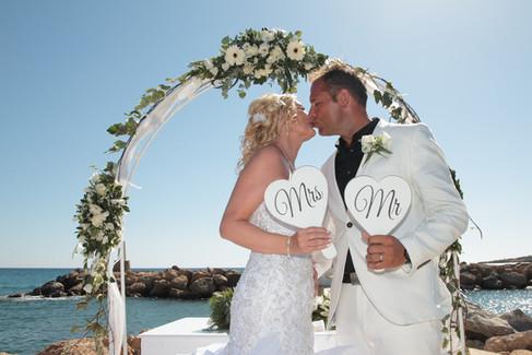 Cyprus Dream Weddings at the Coral Beach Hotel