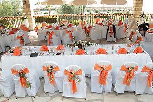 cyprus wedding reception decorations