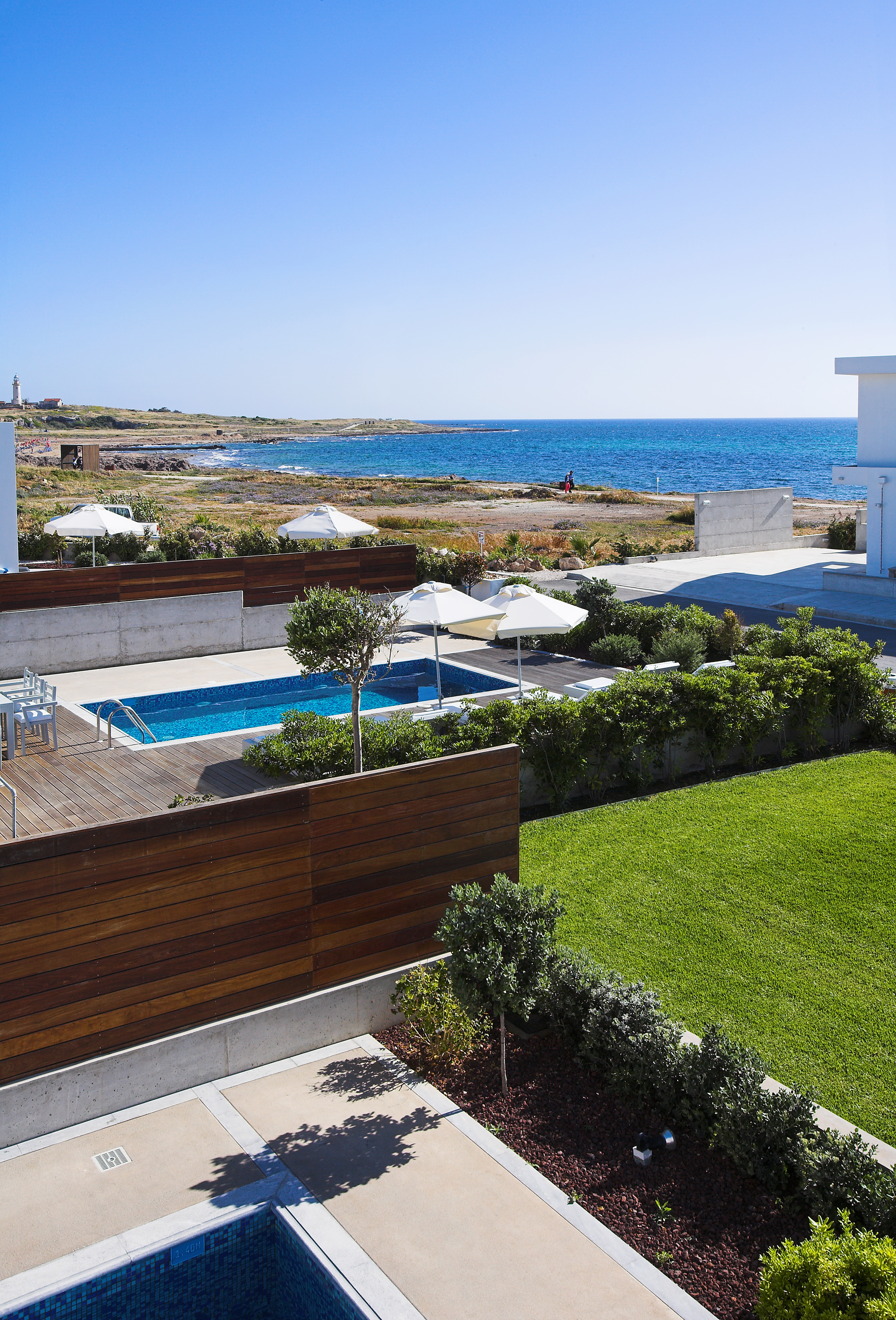 right on the beach luxury villas in Cyprus