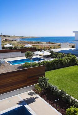 right on the beach luxury villas in Cyprus