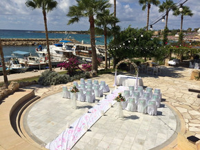 Cyprus Dream Weddings at the Coral Beach Hotel
