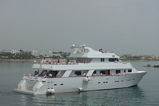 Cyprus Yacht Weddings and Wedding Reception on a private yacht by Cyprus Dream Weddings