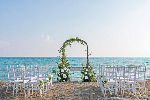 Wedding paphos Cyprus The Coral Residences