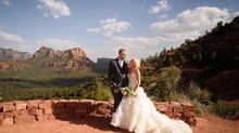 Katy and Brandon's Summer Wedding at Sky Ranch Lodge in Sedona