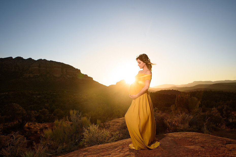 Sedona Maternity Photography