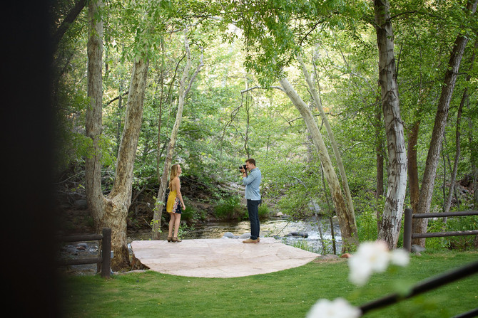 Surprise Sedona Proposal- Steven and Taylor