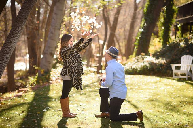 Romantic Surprise Proposal at L'Auberge De Sedona