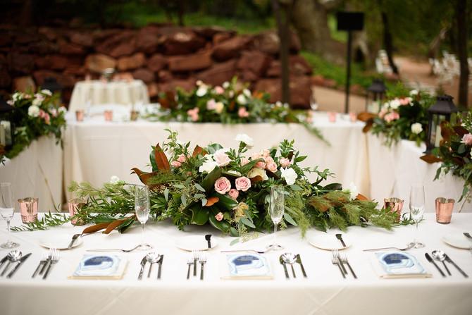 Jason and Leslie's Romantic Creek Side  Wedding at L'Auberge in Sedona Arizona