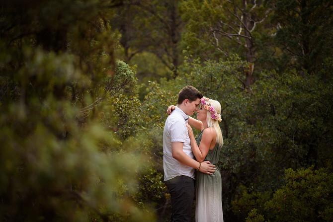 Romantic Sedona Sunset Engagement Session- Anthony and Kristy