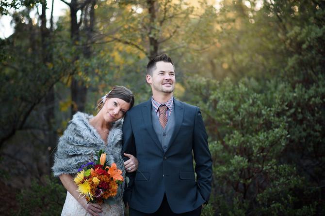Jake and Liz's Magical Flagstaff Wedding
