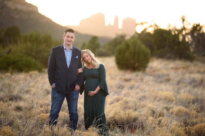 Sedona Baby Moon | Kelly and Worth | Sedona Arizona Maternity Session