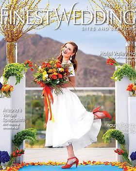 az finest wedding magazine cover | sedon