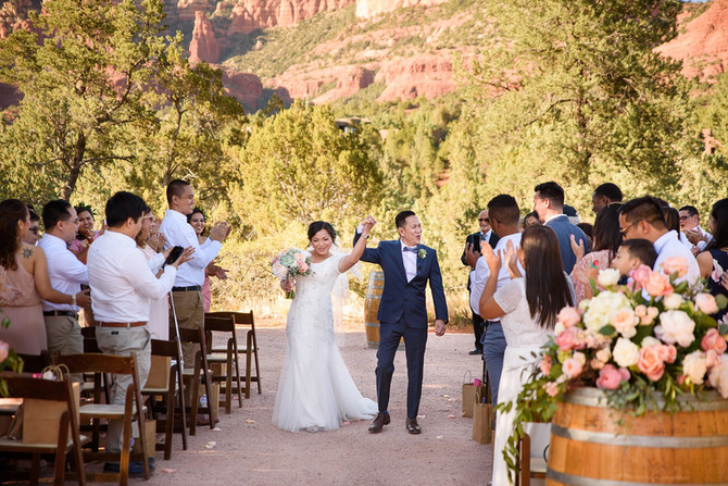 Sedona Arizona Herritage Museum wedding| Joyce and Friday