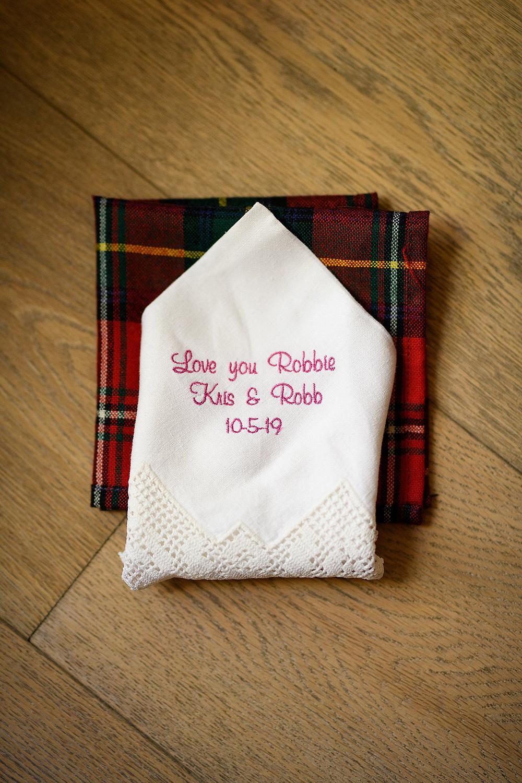 grooms pocket square| sedona arizona | kris and Robb