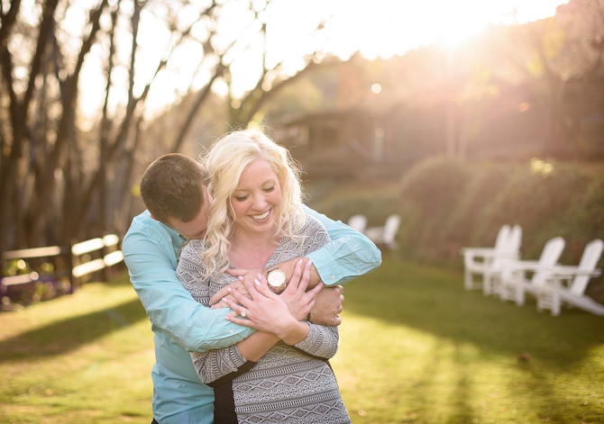Dayton and Adria's Surprise Proposal at L'Auberge in Sedona