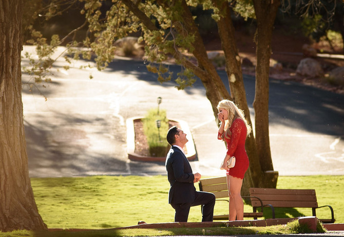 Anthony & Tracey's Sedona Surprise Proposal at Enchantment Resort