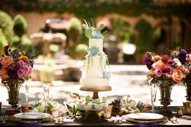Romantic Desert Inspired Styled Wedding Shoot in Tlaquepaque Sedona