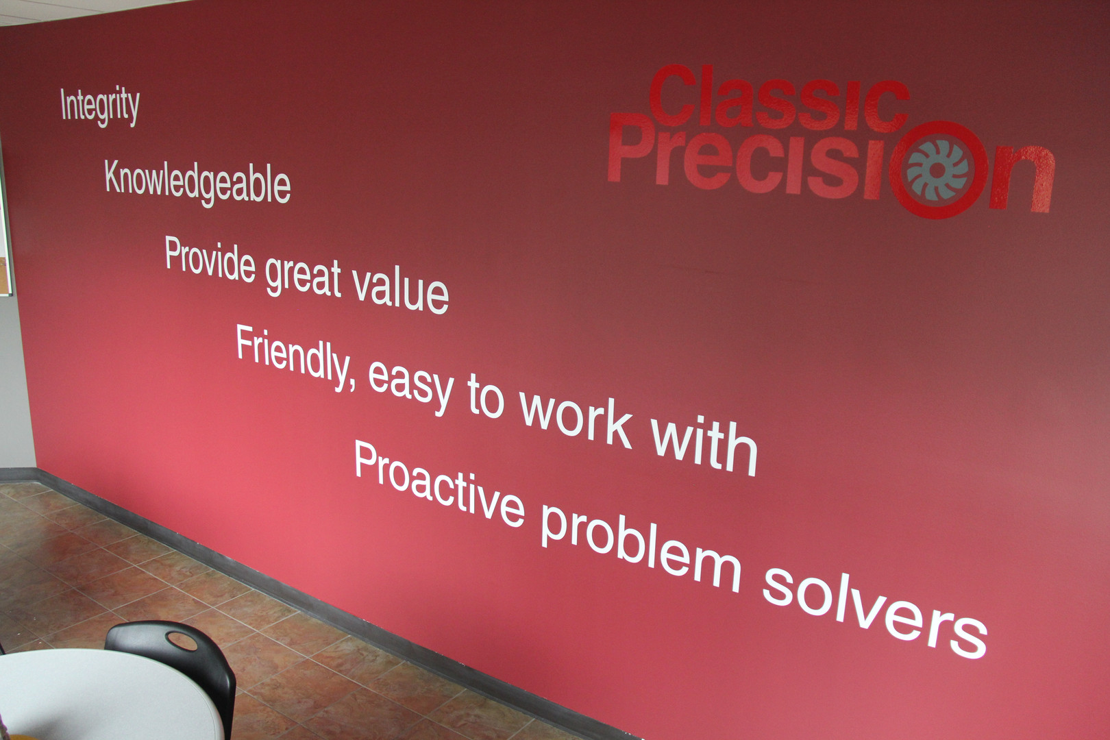 Classic Precision Core Values