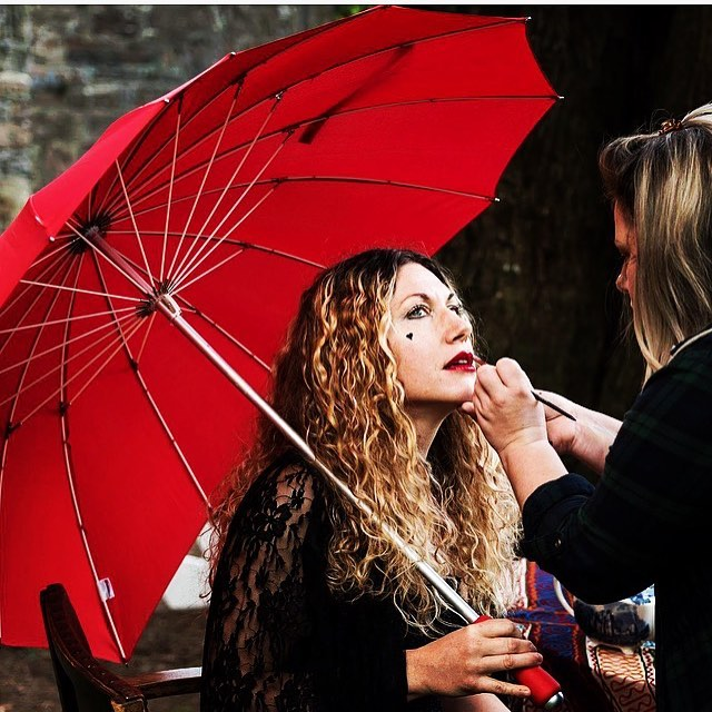 #queenofhearts #makeupartist #devon #mua #aliceinwonderland _loveartdesigns16