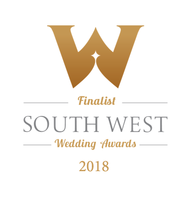 South West Wedding Awards Finalist 2018!