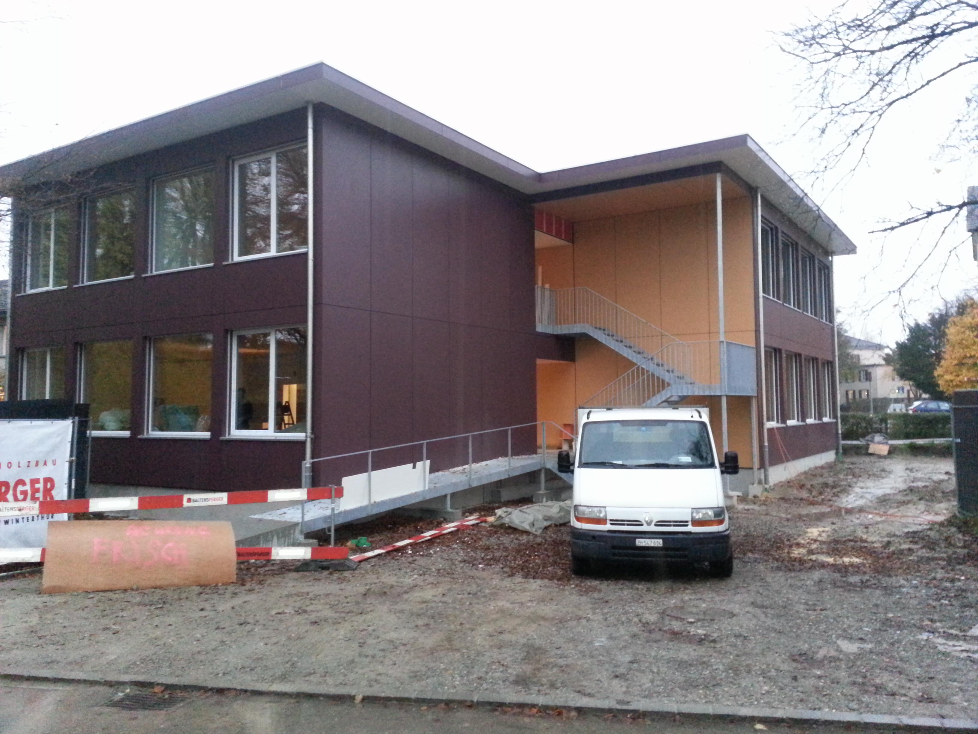 Schulhaus Pavillon 3