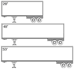 MyWay Carriers Trailer Lengths