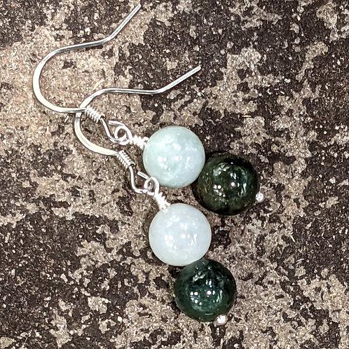 Earring: Jade (Jadeite, BurmaJade)