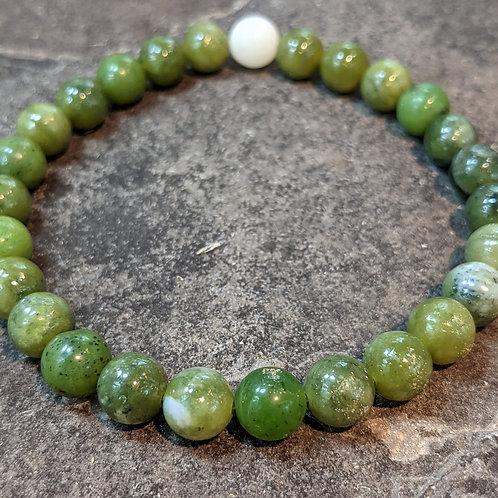 Bracelet: Jade (Nephrite) 8mmRounds