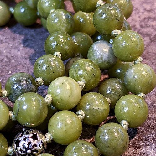 Mala: Jade (Nephrite)