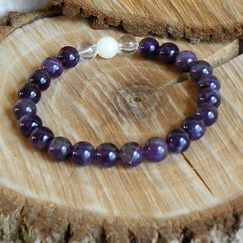 Bracelet: Purple Protector