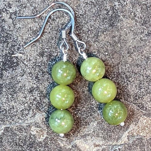 Earring: Jade (Nephrite)
