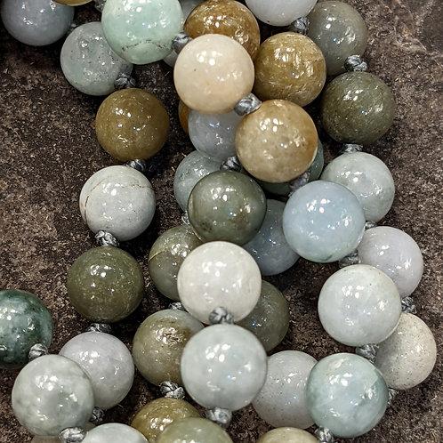 Mala: Jade (Jadeite, Burma Jade)