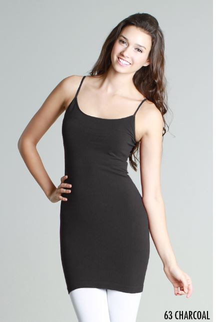 ca995fa76102 Thin strap camisole dress slip. Quality construction and great for layering.