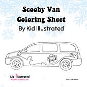 KI - Insta Scooby Van Stuck - Coloring S
