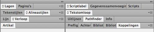 indesign tabel