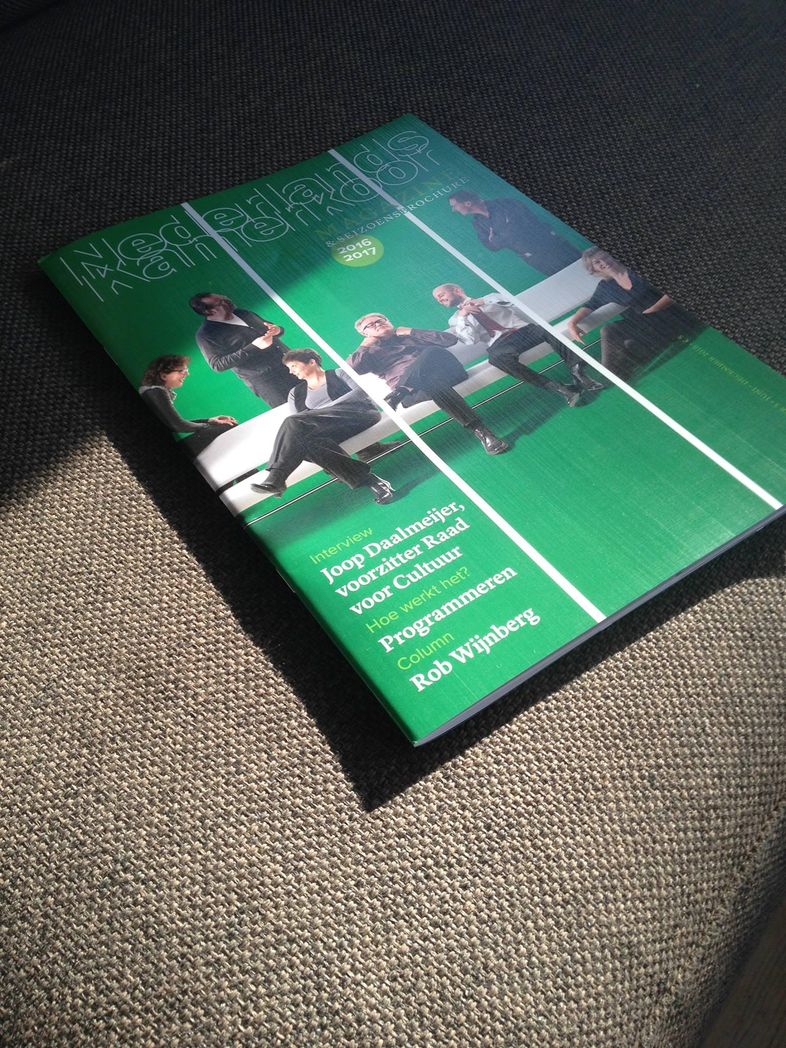 NKK magazine groen