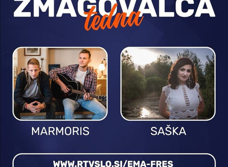 Eurovision 2020 l Marmoris and Saška have won this week's duel in EMA Freš